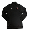 Denison Nike Swimming DriFit 1/4 Zip Top Black