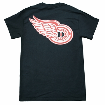 Denison MV Swimming Winged TShirts Black