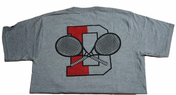 Denison Champion Tennis Tee Grey