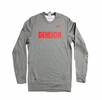Denison Nike Therma-Fit Fleece Crew Dark Heather