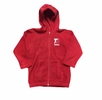 Denison Toddler Arctic Fleece Full Zip Jacket Red