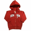 Denison Toddler Full Zip Hoodie Red