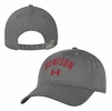 Denison Under Armour Garment Washed Cotton Hat Graphite