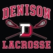 Denison Under Armour Lacrosse Armour Fleece Storm Hoodie Black
