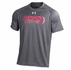 Denison Under Armour Lacrosse NuTech Tee Short Sleeve Carbon Heather