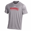 Denison Under Armour NuTech Tee Lacrosse True Gray Heather