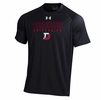 Denison Under Armour NuTech University Tee Short Sleeve Black
