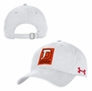 Denison Under Armour Patch Hat Red Orange