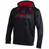 Denison Under Armour SMU Hoodie Black/ Red