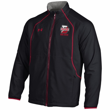 Denison Under Armour SMU Hybrid Jacket Black/ Red