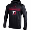 Denison Under Armour SMU Tech Terry Hoody Black