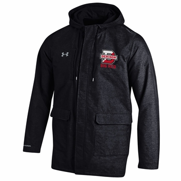 Denison Under Armour SMU Twill Rain Jacket Black