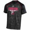 Denison Under Armour Tech Tee Black/ Red