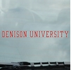 Denison University Static Cling Long Decal