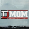 Denison University Static Cling Mom Decal