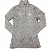 Denison Womens Nike DriFit Element 1/2 Zip Carbon