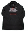 Denison Womens Nike Funnel Hoody Black/ Red