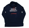 Denison Womens Nike Funnel Hoody Navy/ Red