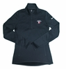 Denison Womens Nike Thermal 1/2 Zip Black