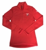 Denison Womens Nike Thermal 1/2 Zip Red