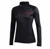 Denison Womens Under Armour 1/4 Zip Cold Gear Black