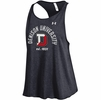 Denison Womens Under Armour Trapeze Racer Tank Black