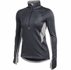 Denison Womens Under Armour Verve Fleece 1/2 Zip Carbon Heather