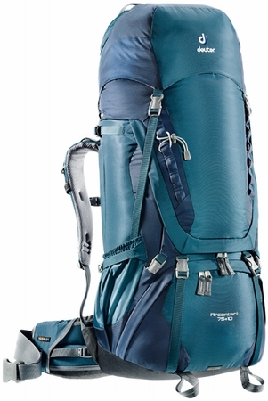 Deuter Aircontact 75+10 Artic Navy