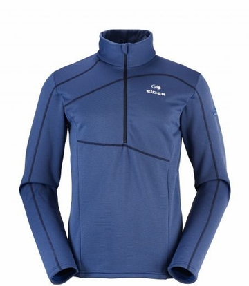 Eider Mens Ampezzo 1/2 Zip Fleece Dark Blue