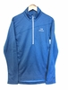 Eider Mens Ampezzo Fleece 1/2 Zip Active Blue