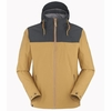Eider Mens Chiloe Jacket Cuban Sand/ Night Shadow