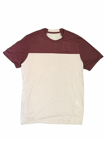 Eider Mens Commit Mix Tee 2.0 Sweet Wine/ Lunar Grey