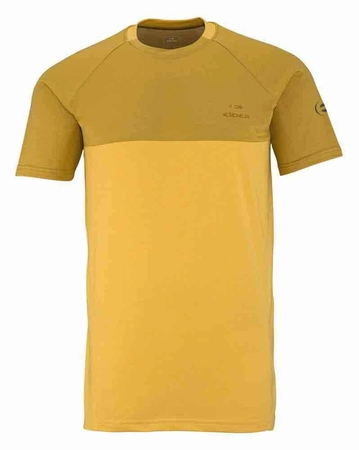 Eider Mens Commit Mix Tee Dark Corn