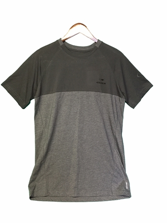Eider Mens Commit Mix Tee Dark Grey