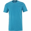 Eider Mens Commit Print Tee Carribean Sea