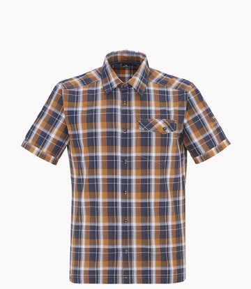 Eider Mens Dartmoor 2.0 Shirt Rust Orange