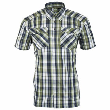 Eider Mens Dartmoor Shirt 2.0 Pesto/ Dark Night