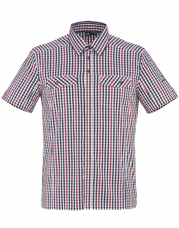 Eider Mens Dartmoor Stretch Shirt Chili Pepper/ Dark Night