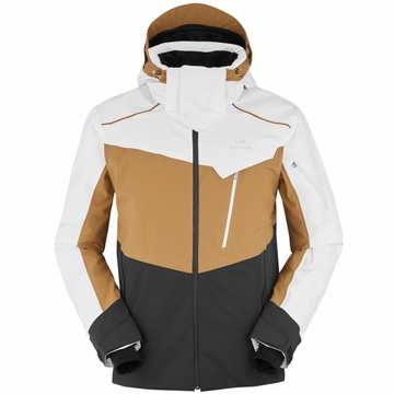 Eider Mens Deer Valley Jacket Ghost/ Bronze