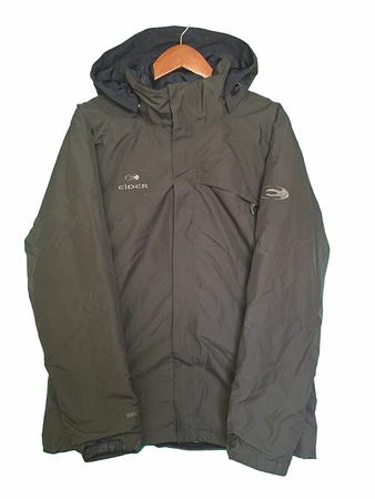 Eider Mens Denali 3 in 1 Jacket Dark Earth