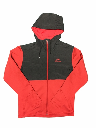 Eider Mens Everglades Hoodie Crimson Red