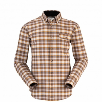 Eider Mens Fier Shirt Graphite/ Light Amber