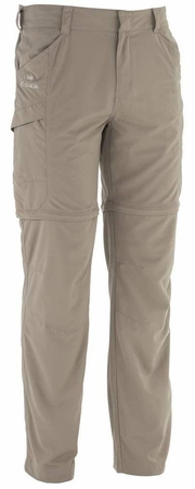 Eider Mens Galapagos Zip Off Pant 2 Faint Brown