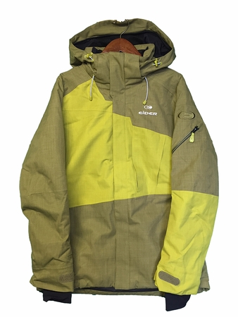 Eider Mens Glencoe Jacket 2.0 Rock Green/ Green Lime