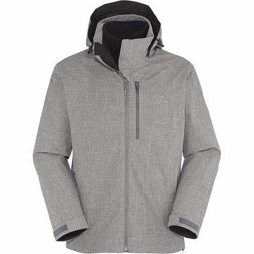 Eider Mens Kargil 3 in 1 2.0 Jacket Grey Cloudy