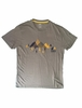 Eider Mens Kidston Tee Kaki Print Graph Mountains