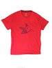 Eider Mens Kidston Tee Red Lava Print Flying Duck