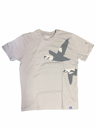 Eider Mens LAC Tee Misty Green Flying Duck