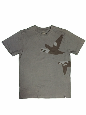 Eider Mens LAC TEE Night Shadow Print Fly Duck
