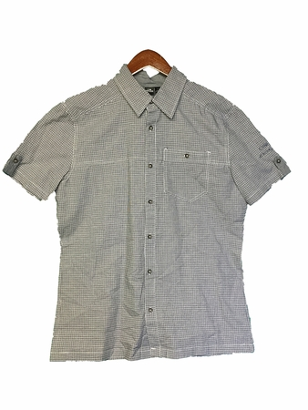 Eider Mens Manas Shirt Night Shadow Check